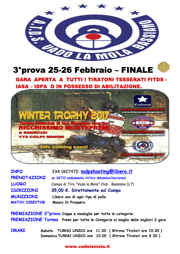 WinterMatch Interclub 2017